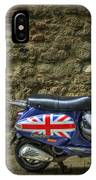British At Heart IPhone Case by Evelina Kremsdorf
