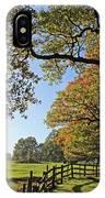 British Autumn IPhone Case