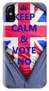 British Businessman Votes No IPhone Case