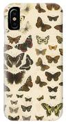 British Butterflies IPhone Case