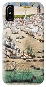 British Landing, 1768 IPhone Case