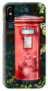 British Mail Box IPhone Case