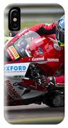British Superbike Rider Barry Burrell   IPhone Case