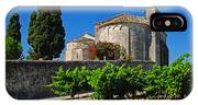 Brittany Vineyard And Monastery  IPhone Case