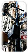 Broadway And Pine IPhone Case