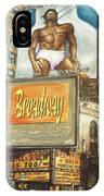 Broadway Billboards - New York Art IPhone Case