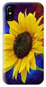 Brocade Daisy IPhone Case