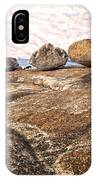 Broken Glacial Erratics IPhone Case