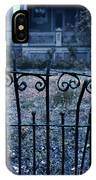 Broken Iron Fence By Old House IPhone Case