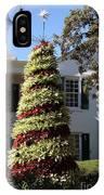 Bromelia Christmas Tree IPhone Case