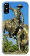 Bronco Buster - Denver IPhone Case