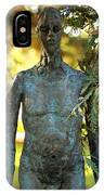 Bronze Man IPhone Case