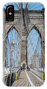 Brooklin Bridge IPhone Case