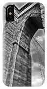 Brooklyn Bridge Arch - Vertical IPhone Case