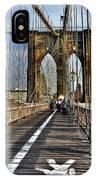 Brooklyn Bridge At Dusk IPhone Case
