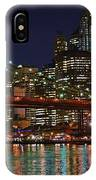 Brooklyn Bridge At Night IPhone Case