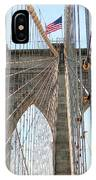 Brooklyn Bridge Cables IPhone Case