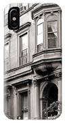 Brooklyn Heights -  N Y C - Classic Building And Bike IPhone Case