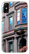 Brooklyn Heights - Nyc - Classic Building And Bike IPhone Case