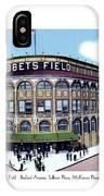 Brooklyn - New York - Flatbush - Ebbets Field - 1928 IPhone Case