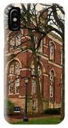 Brooks Hall At University Of Virginia IPhone Case