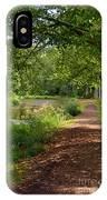 Brookside Garden Walk IPhone Case