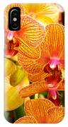 Smiling Brown And Pink Orchids IPhone Case