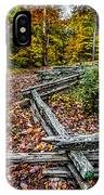 Brown County Park IPhone Case