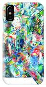 Bruce Springsteen And The E Street Band - Watercolor Portrait IPhone Case