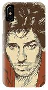 Bruce Springsteen Pop Art IPhone Case