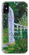 Brucemore Garden Gate IPhone Case