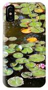 Bruges Lily Pond IPhone Case