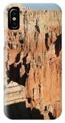 Bryce Canyon Hoodoos IPhone Case
