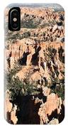 Bryce Canyon Hoodoos And Fins IPhone Case