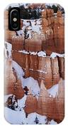 Bryce Canyon In Winter 2 IPhone Case