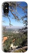 Bryce Canyon Overlook With Dead Trees IPhone Case