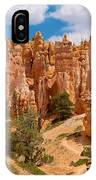 Bryce Canyon Spirals 2 IPhone Case