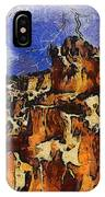 Bryce Canyon Thuderstorm IPhone Case