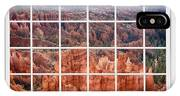 Bryce Canyon White Picture Window View IPhone Case