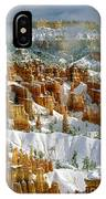 Bryce Winter Morning IPhone Case