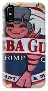 Bubba Gump Shrimp Co. IPhone Case