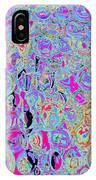 Bubbles Five IPhone Case