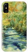 Bubbling Brook IPhone Case