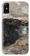 Bubbling Spring In Upper Geyser Basin IPhone Case