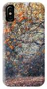 Buck And Fall Foliage IPhone Case