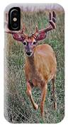 Buck In Motion IPhone Case