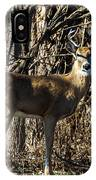 Buck In The Woods IPhone Case