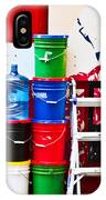 Buckets Of Color IPhone Case
