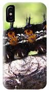 Buckeye Caterpillar 2 IPhone Case