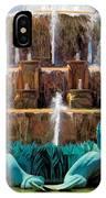 Buckingham Fountain Closeup IPhone Case